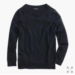 J Crew Black Tippi Sweater